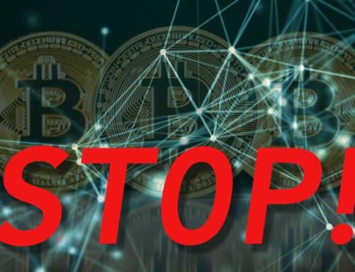 Kako zaustaviti Bitcoin?