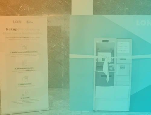 Slovenska banka LON od sada nudi kupnju Bitcoina na svojim bankomatima